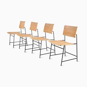 Chaises de Salle à Manger Modèle SW88 par Herta-Maria Witzemann pour Wilde+Spieth, 1950s, Set de 4