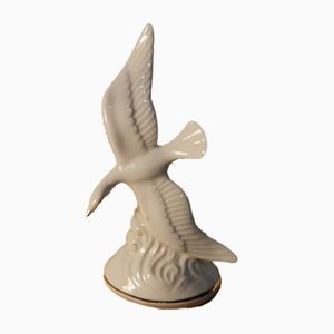 Porcelain Seagull from Kunstporzellan Zumas, 1960s