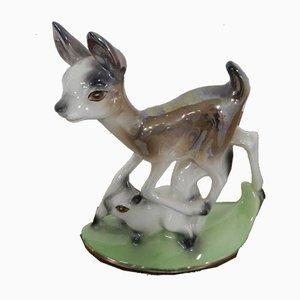 Reh aus Keramik von Il Querceto, 1960er