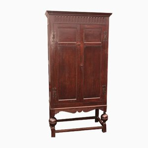 Antique Oak Wardrobe, 1910