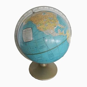 Globe from Rand Mç Nally & Company, 1960s