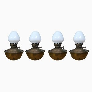 Vintage Table Lamps from CWB British Ware, Set of 4