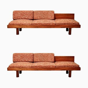 Vintage Daybeds by Pierre Chapo, 1960s, Set of 2