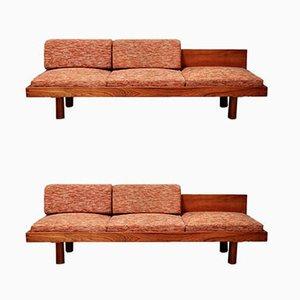 Sofá cama vintage de Pierre Chapo, años 60