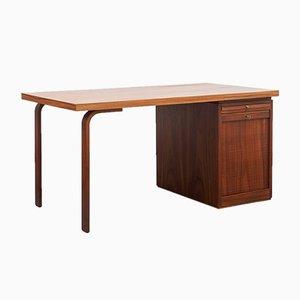 Schreibtisch aus Palisander, 1950er