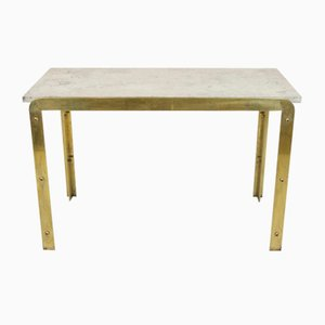 Vintage Brass Console Table, 1970s