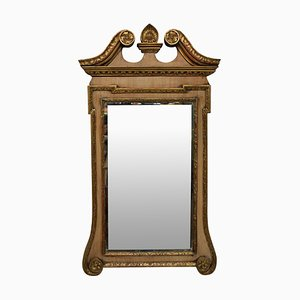 Antiker George III Spiegel mit Rahmen aus Mahagoni & vergoldetem Holz