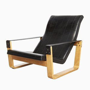 Lounge Chair by Ilmari Lappalainen for Asko, 1970s