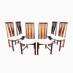 Mid-Century Esszimmerstühle aus Palisander von Boltinge Stolefabrik, 1960er, 6er Set