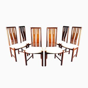 Mid-Century Rosewood Dining Chairs from Boltinge Stolefabrik, 1960s, Set of 6