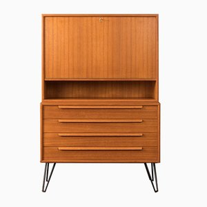 Teak Veneer Secretaire from WK Möbel, 1960s