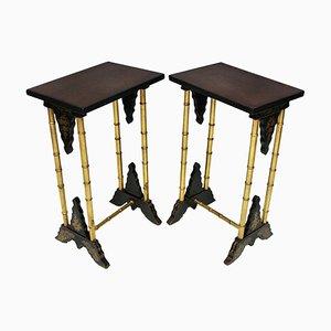 Tables à Vin Antiques, Royaume-Uni, Set de 2