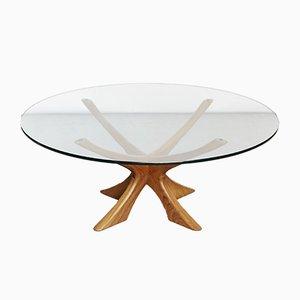 Tavolino da caffè T118 di Illum Wikkelsø per Niels Eilersen, anni '60