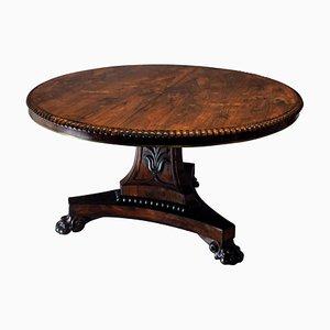 Table de Petit-Déjeuner George IV Antique en Palissandre