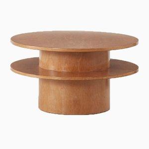 2-Stufiger Couchtisch aus Birke von Gerald Summers für Makers of Simple Furniture, 1934