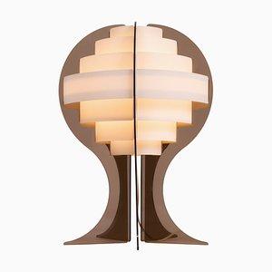 Mid-century Tischlampe von Flemming Brylle & Preben Jacobsen