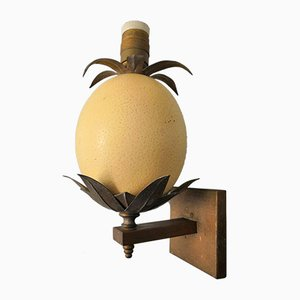 Ostrich Egg Sconce, 1960s