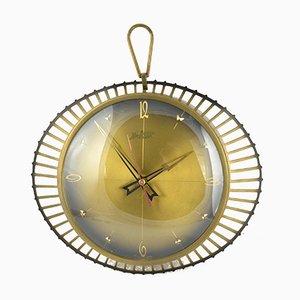 Reloj de pared era espacial de Atlanta, años 70