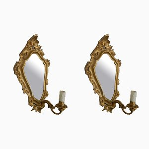 Italian Mirrors, 1920s, Set of 2
