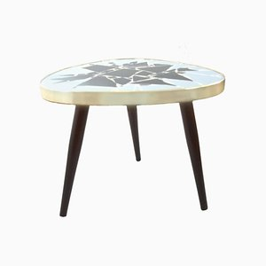 Mid-Century Mosaic Kidney Shaped Table