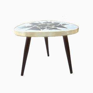 Nierenförmiger Mid-Century Tisch mit Mosaikplatte
