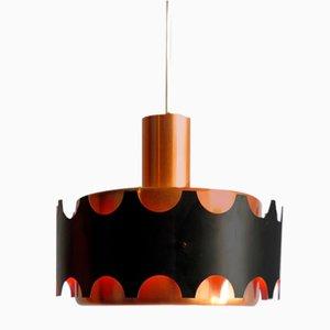 Aluminum Ceiling Lamp from Doria Leuchten, 1960s