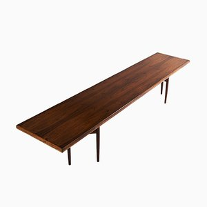 Mid-Century Rosewood Dining Table by Arne Vodder