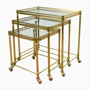 Mid-Century Hollywood Regency Nesting Tables