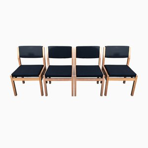 Model SA07 Japanese Series Dining Chairs by Cees Braakman for Pastoe, 1970s, Set of 4