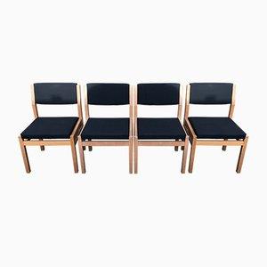 Modell SA07 Esszimmerstühle aus der Japanese Serie von Cees Braakman für Pastoe, 1970er, 4er Set