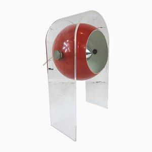 Deutsche Kugellampe von DP-Design, 1970er