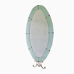Italian Standing Mirror by Pier Luigi Colli, 1950s