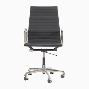 Mid-Century Aluminum Model EA-119 Swivel Chair by Charles & Ray Eames for Herman Miller