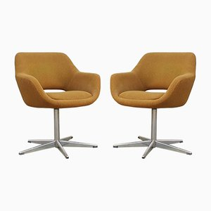 Swivel Soft Egg Armchairs by Niko Kralj for Stol Kamnik, 1960s, Set of 2