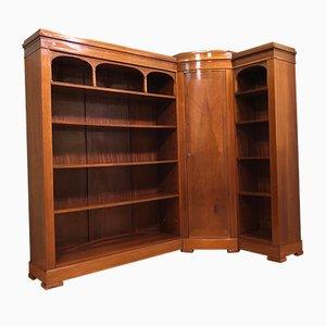 Antique Art Nouveau Corner Shelf