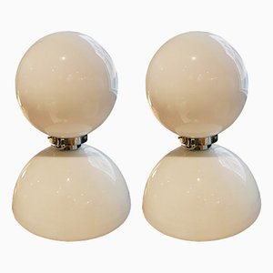 Vintage Spanish Table Lamps, Set of 2