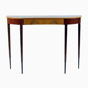 Table Console en Palissandre, années 50