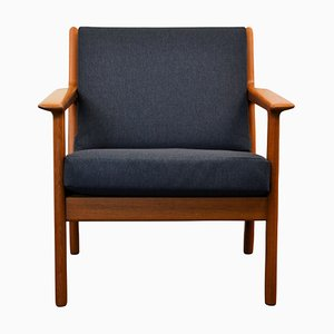 Mid-Century GE-265 Lounge Chair by Hans J. Wegner for Getama