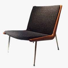 Boomerang Chair by Peter Hvidt & Orla Molgaard Nielsen for France & Daverkosen, 1956