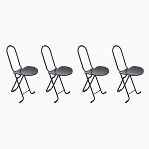 Dining Chairs by Gastone Rinaldi for Thema, 1970s, Set of 4