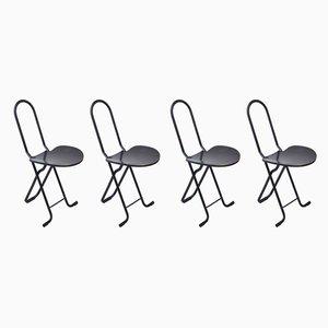 Esszimmerstühle von Gastone Rinaldi für Thema, 1970er, 4er Set