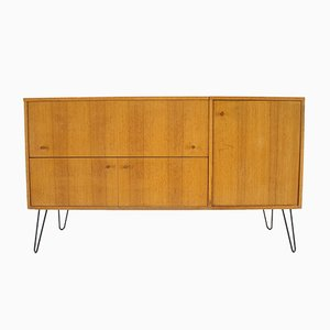 Danish Cabinet with Bar, 1960s