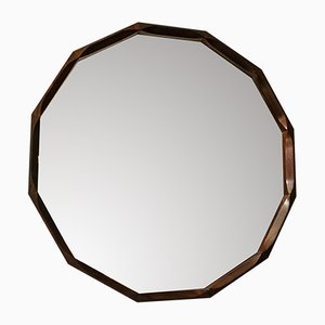 Rosewood Mirror from Tredici, 1950s