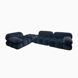 Camaleonda Sofa by Mario Bellini for C&B Italia, 1973, Set of 4