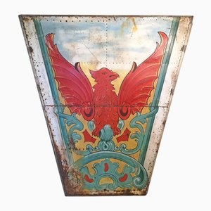 Antique Fairground Panel