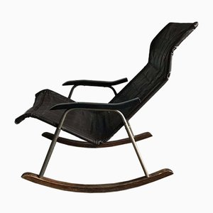 Japanese Rocking Chair by Takeshi Nii, 1950s