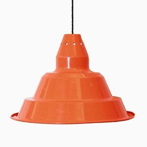 Lámpara de techo industrial vintage, años 70