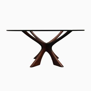 Rosewood Coffee Table by Illum Wikkelsø for Niels Eilersen, 1960s