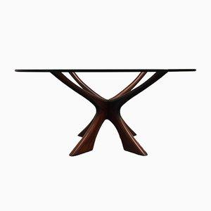 Table Basse en Palissandre par Illum Wikkelsø pour Niels Eilersen, années 60