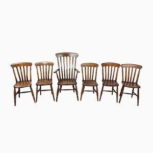 Chaises de Salle à Manger Anciennes, Set de 6